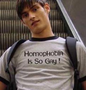 Homophobia Is So Gay!
